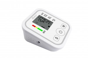 Arm Style Electronic Blood Pressure Monitor BP100
