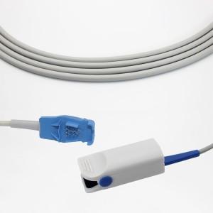 GE-Ohmeda Adult Clip SpO2 Sensor P9110L,1m/3ft, Compatible OXY-F-UN