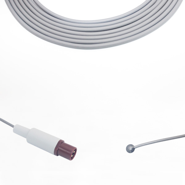 Philips 21078A Adult Skin Temperature Probe, Round 2 Pins Connector Featured Image