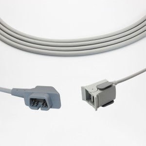 CSI Pediatric Finger Clip Spo2 Sensor,Compatible 1563-10D, 3m/10ft, P7307A