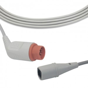 Drager-Siemens IBP cable fit for Medex/Abbott transducer, B0404