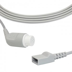 Mindray-Datascope IBP Cable To Utah Transducer, B0502