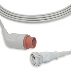 Drager-Siemens IBP cable fit for Argon transducer, B0704
