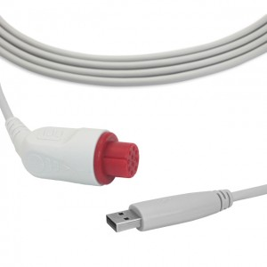 GE-Datex IBP Cable To USB Transducer B0906