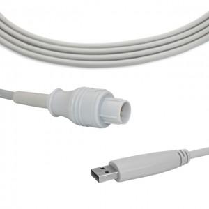 Nihon Kohden IBP Cable To USB Transducer B0909