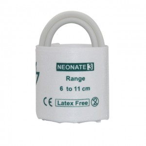Hindi kinakailangan neonate NIBP Cuff, 5-10.5cm, Double tube C0403