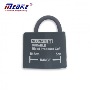Neonate Blood Pressure Cuff ,single tube without bag, C1310