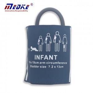 NIBP Cuff For Infant, Single tube blade, PU blue C6511