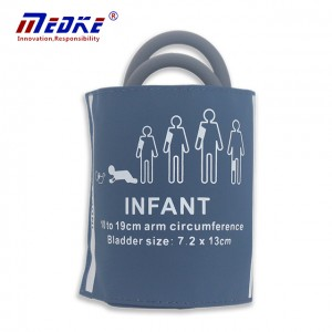 NIBP Cuff For Infant, Double tube blade, 10-19cm C6521