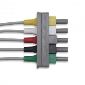 Philips ECG Leadwire 5 Lead Pinch G521AA