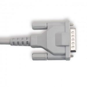 Schiller je 10-Olovo oklopljen EKG kabel aha Banana4.0, Kratka Vijak K1114B