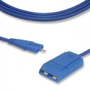 """Grounding Pad Cable CP1006B, """"8″ shape connector"""
