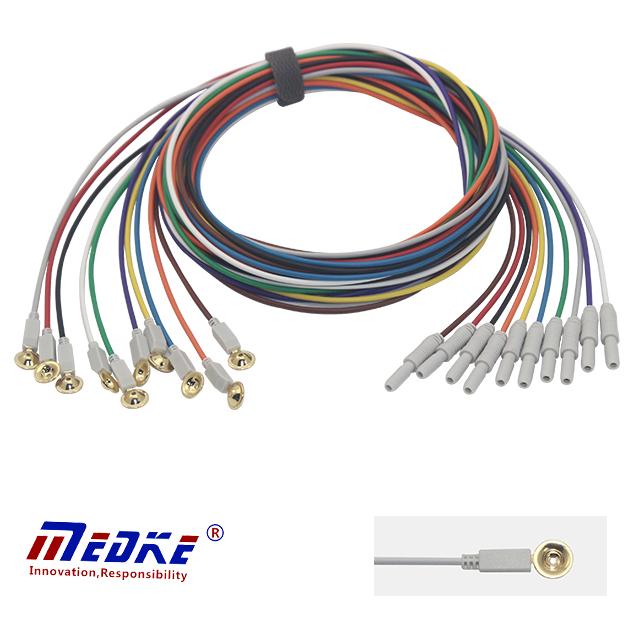 kabel Universal EEG, Piala EEG elektrod dan saraf E0001-B Cadangan Imej