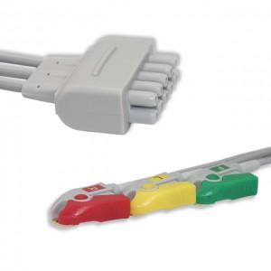 GE Marquette ECG Leadwire Pinch 3 Plomo IEC G321MQ