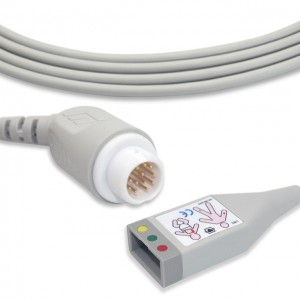 Philips 12 Pin ECG Trunk Cable M1510A G3224AA