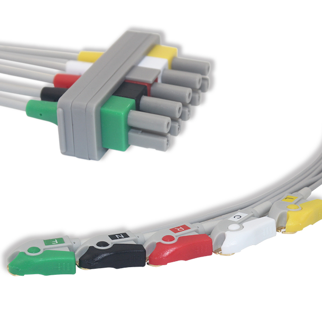 Philips ECG Leadwire 5 Lead Pinch G521AA Featured Image