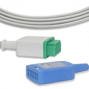 GE-Marquette ECG Trunk cable G6112MQ, 6 Lead,AHA