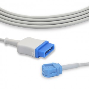 GE-ohmeda OXY-ES3 Spo2 Extension Cable P0210K