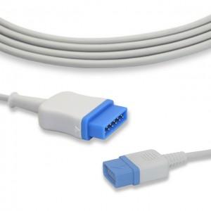 GE Trusignal TS-G3 serasi SpO2 Kabel P0210KT