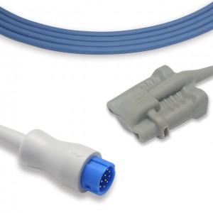 Philips 12 Pins Adult Soft Tip SpO2 Sensor,Compatible M1900B+M1191T, P8325