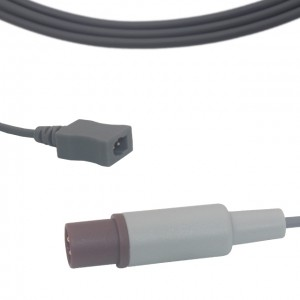 Philips-HP 2 Pins To Square Connector Temperature Adapter Cable T0205