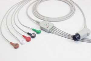 6pins ECG Cable Snap End