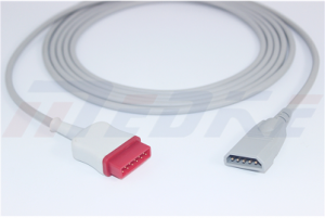 GE Marquette IBP Cable To PVB Transducer