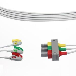 Philippus M1613A Leadwire ECG, 3lead, IEC