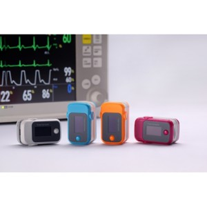 Voyaga pediatriya uchun Smart Finger SpO2 Pulse Oximeter