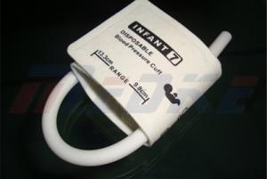डिस्पोजेबल अर्भक सिंगल ट्यूब NIBP अनाधिकृत व उत्स्फूर्त