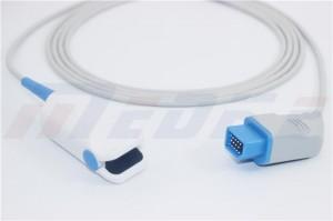 Nihon Kohden Adult Finger Clip SpO2 Sensor, 14pins